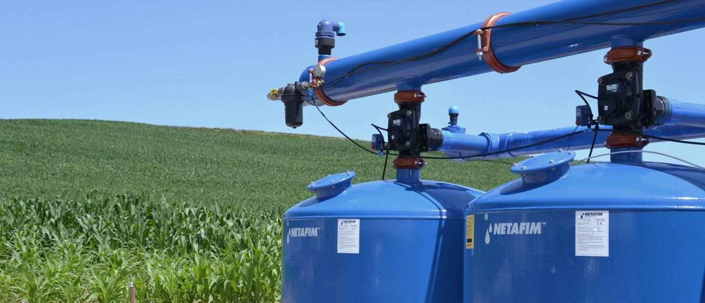 Filters for precision irrigation