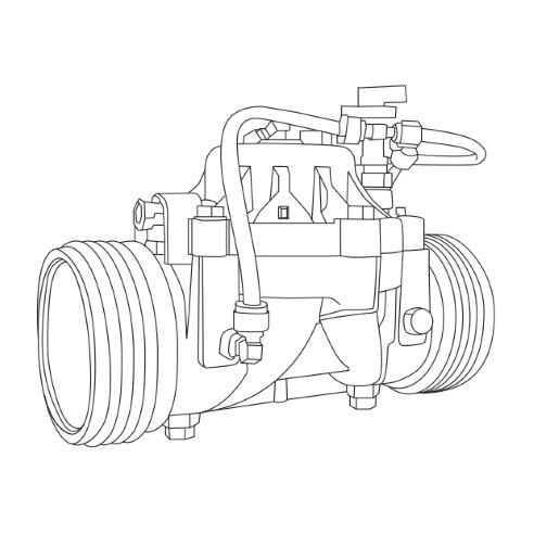 """Pressure Regulator  2/"""" Netafim AquaNet DC Electric Solenoid Valve Controller"""